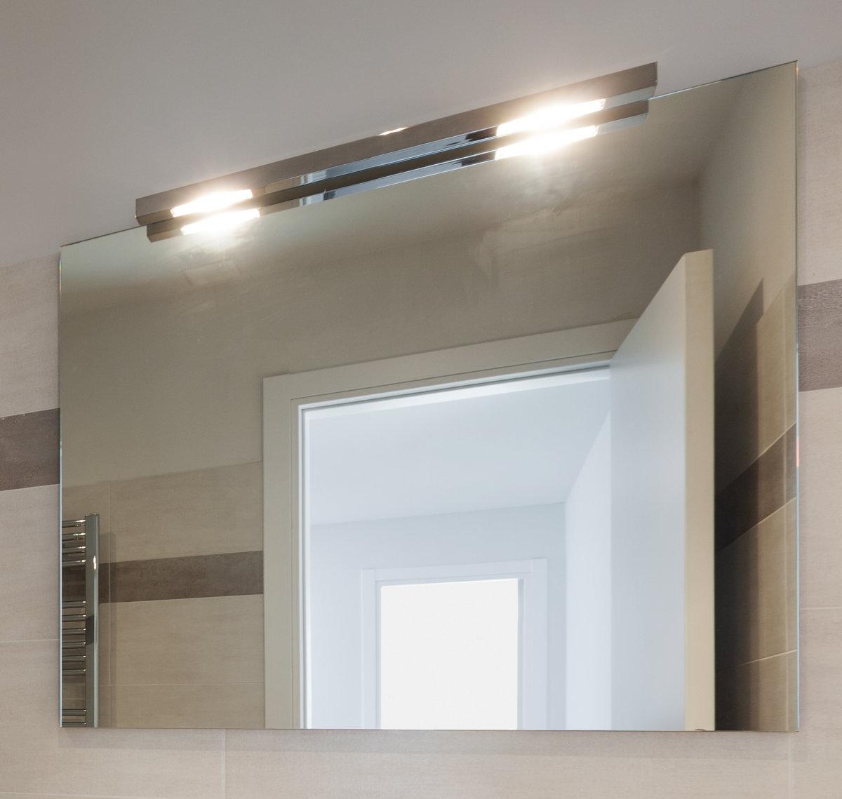 Spiegel beleuchtet